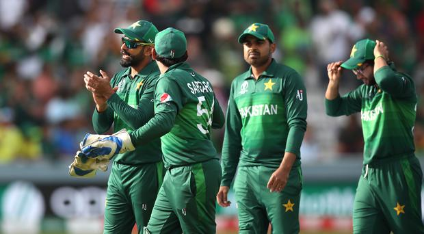 Pakistan were unable to pull off a miracle in their bid to qualify for the World Cup semi-finals. (Tim Goode/PA)