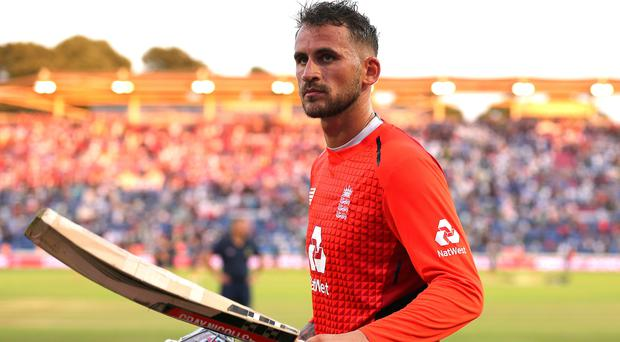 Alex Hales was removed from all England squads (Mark Kerton/PA)