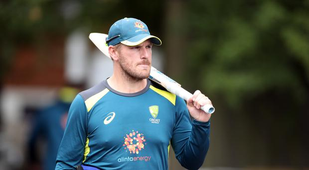 Finch played down Maxwell's absence from the net session (Nick Potts/PA)