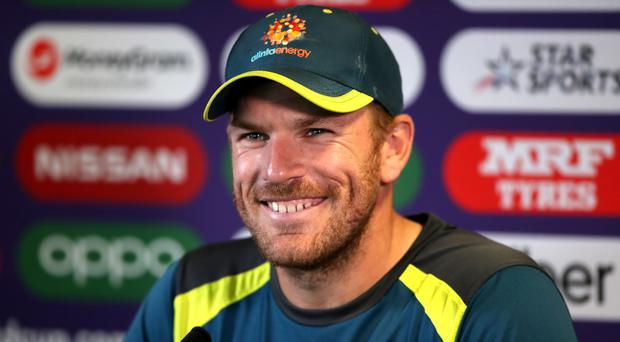 Finch insists there is no significance in Maxwell's absence from nets (Nick Potts/PA)
