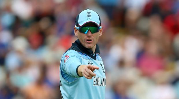 Eoin Morgan led England to the World Cup final (Nigel French/PA)