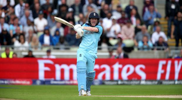 Eoin Morgan will lead England into the World Cup final on Sunday (Nick Potts/PA).