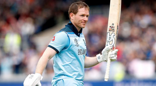 Eoin Morgan could secure his place in the canon of England's greatest sporting captains on Sunday (Martin Rickett/PA)
