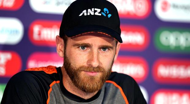 Kane Williamson was in relaxed mood ahead of New Zealand's World Cup final against England (John Walton/PA)