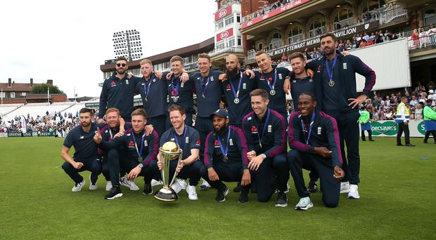 England's World Cup triumph can empower cricket across the nation, according to ECB chief Tom Harrison. (Steve Paston/PA)