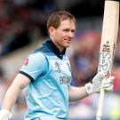 Eoin Morgan will play for Dublin Chiefs in the Euro T20 Slam (PA)