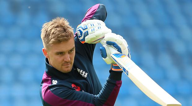 Jason Roy will make his Test debut against Ireland (Nigel French/PA)