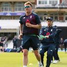 Root (right) has backed Roy (left) to play his natural game (Nigel French/PA)