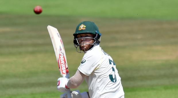 David Warner made a half-century on the second day of Australia's pre-Ashes inter-squad match at Southampton (Anthony Devlin/PA)