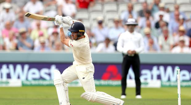 England nightwatchman Jack Leach made a career-best 92 against Ireland at Lord's (Bradley Collyer/PA)