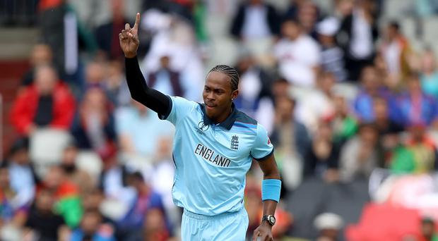 Jofra Archer has been named in England's squad for the first Ashes Test (Tim Goode/PA)