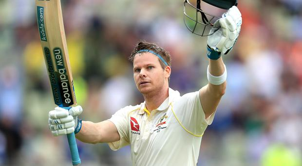 Steve Smith shone for Australia on the opening day of the Ashes (Mike Egerton/PA)