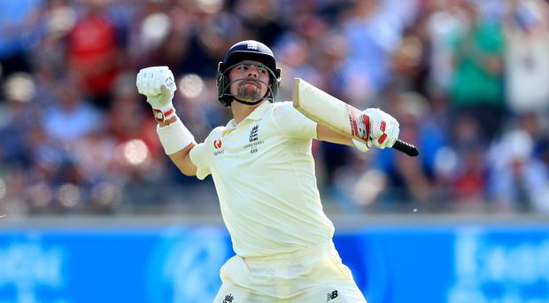 """England's Rory Burns had an """"awesome"""" day at Edgbaston (PA)"""