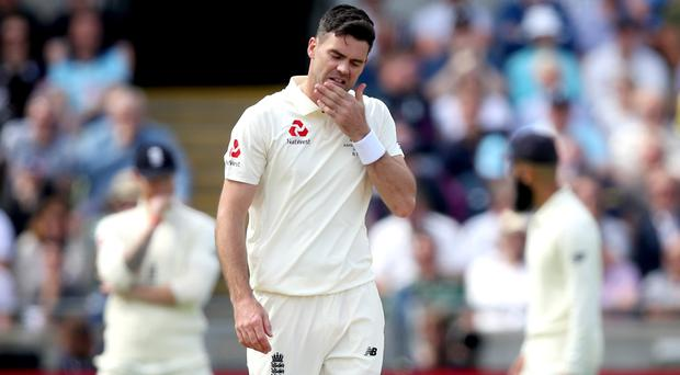 James Anderson is struggling with a calf injury (Nick Potts/PA)