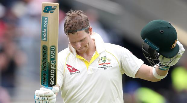 Steve Smith hit 142 (Nick Potts/PA)