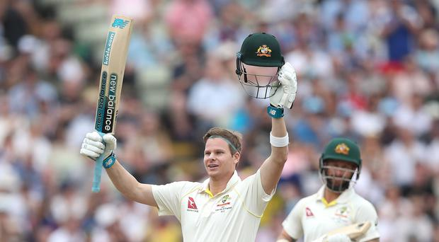 Steve Smith has proved to be the decisive performer in the first Ashes Test (Nick Potts/PA)