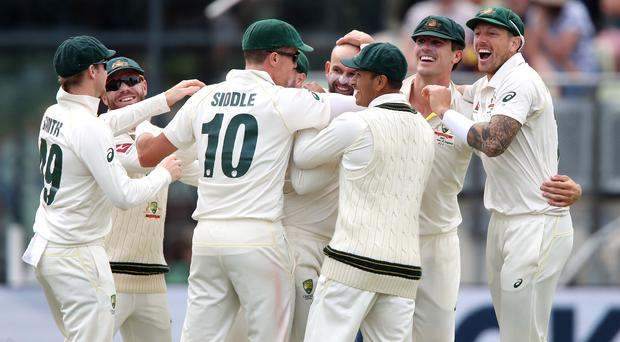Australia are 1-0 up in the Ashes series (Nick Potts/PA)