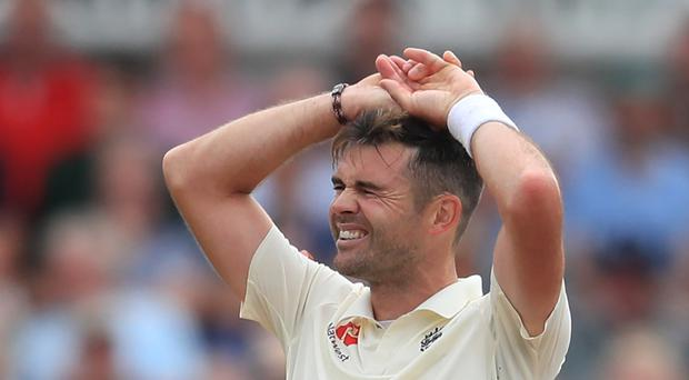 James Anderson's fitness is a worry for England (Mike Egerton/PA)