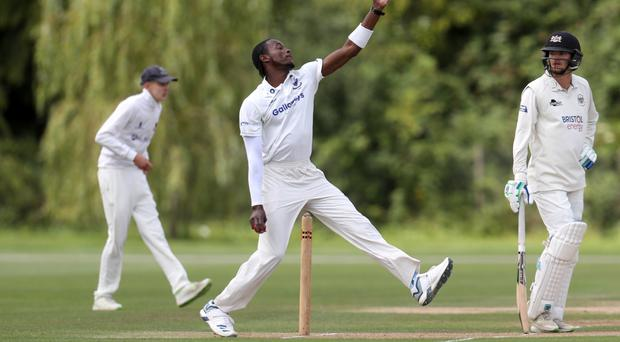 Jofra Archer was quickly into his stride for Sussex Second XI (Simon Cooper/PA)