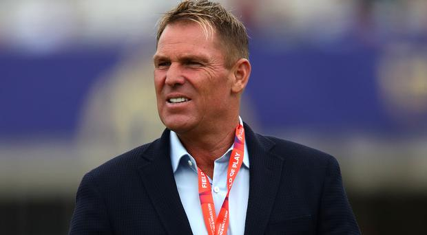 Shane Warne has landed a role in the Hundred (Nick Potts/PA)