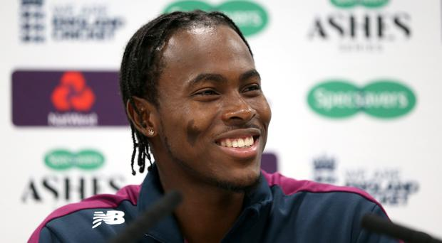 Jofra Archer is ready for his Test debut (Steven Paston/PA)