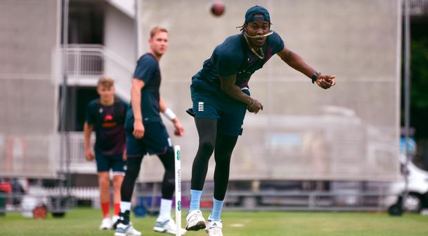 Game plan: England pace bowler Jofra Archer