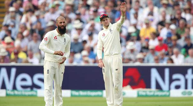 Moeen Ali (left) has been dropped for the second Test at Lord's (Nick Potts/PA)
