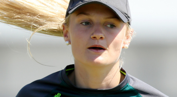 Key innings: Gaby Lewis was 65 not out for Ireland women