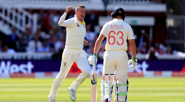 Jos Buttler was among the wickets to fall (Mike Egerton/PA)