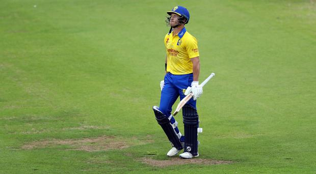 D'Arcy Short's 42 proved in vain as Durham collapsed (Scott Heppell/PA)