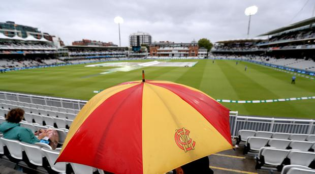 No play was possible after lunch at Lord's (Mike Egerton/PA)