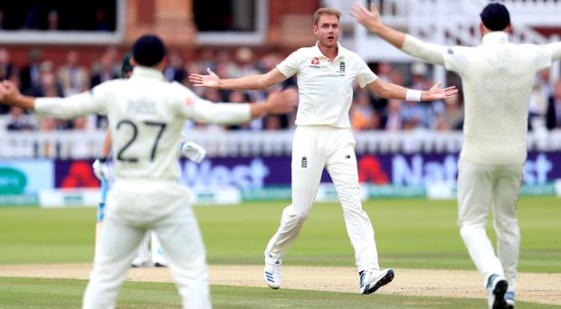 Stuart Broad believes England can still win the second Test (Mike Egerton/PA).