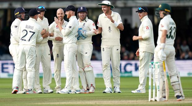 England had to settle for a draw in the second Ashes Test (John Walton/PA)