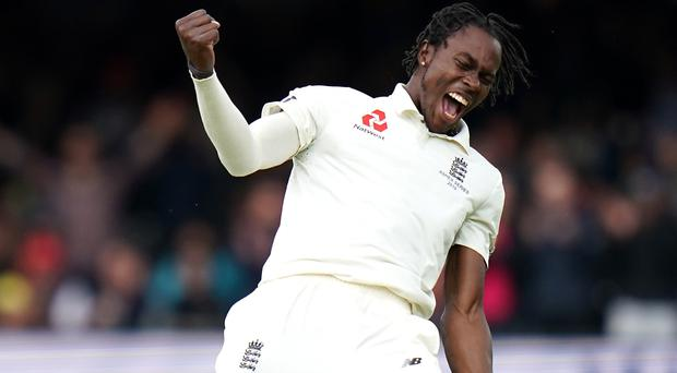Jofra Archer had a Test debut to remember (John Walton/PA)