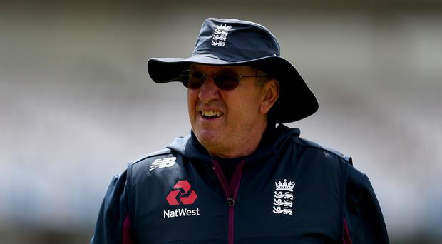 Trevor Bayliss has suggested a potential reshuffle or England's batting order (Steven Paston/PA)