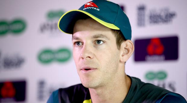 Australia captain Tim Paine accepts the loss of Steve Smith is a major setback (Tim Goode/PA).