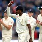 Jofra Archer was the star of the show for England on day one at Headingley (Mike Egerton/PA).