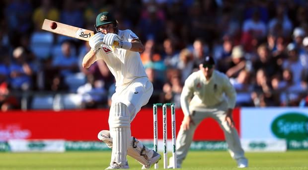 Australia's Marnus Labuschagne during day two of the third Ashes Test match at Headingley, Leeds (Mike Egerton/PA)