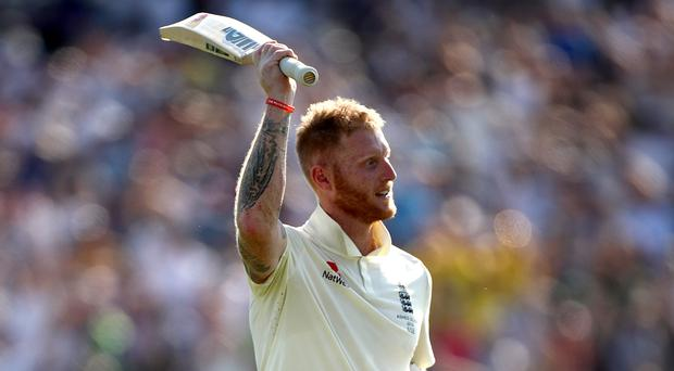 Ben Stokes celebrates victory at Headingley (Tim Goode/PA)