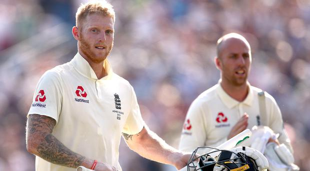 Ben Stokes and Jack Leach were the heroes for England at Headingley (Tim Goode/PA)