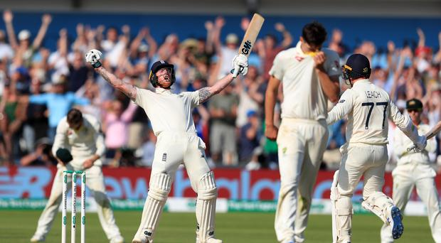 Ben Stokes scored 135 not out at Headingley to help England level the Ashes (Mike Egerton/PA)