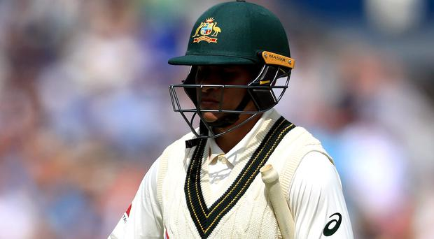 Usman Khawaja has admitted Australia were hurt by their defeat to England at Headingley (Mike Egerton/PA)