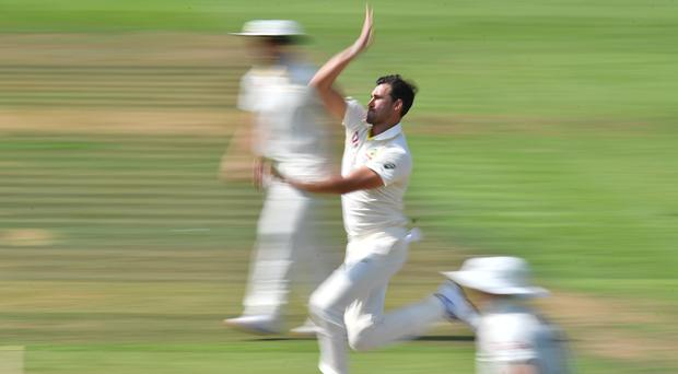 Mitchell Starc boosted his Test claims (