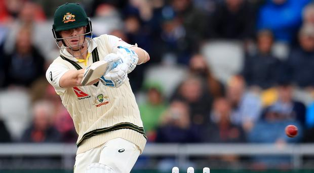 Steve Smith defied the England bowlers again (Mike Egerton/PA)