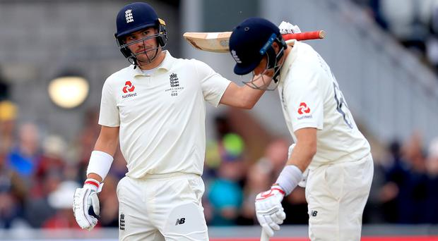 Rory Burns and Joe Root frustrated Australia (Mike Egerton/PA)