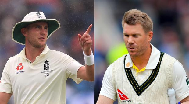 Stuart Broad continues to trouble David Warner