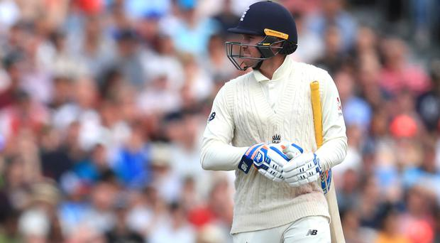 Jason Roy has been dropped for the final Ashes Test (Mike Egerton/PA).