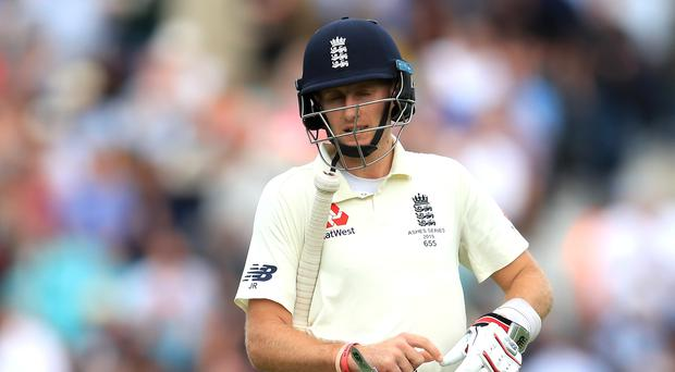 Joe Root has ridden his luck at The Oval (Mike Egerton/PA)