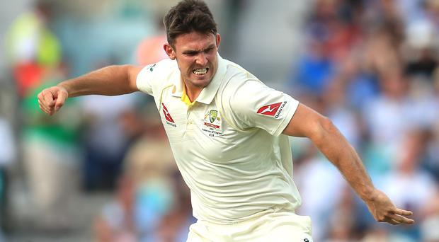 Australia's Mitchell Marsh had a day to remember (Mike Egerton/PA)