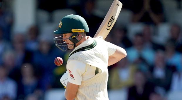 Marnus Labuschagne was 32 not out at lunch (John Walton/PA)